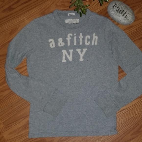 abercrombie kids Other - Abercrombie kids grey shirt small